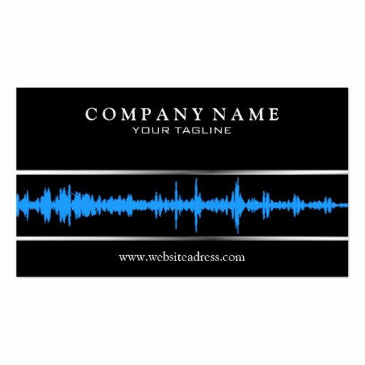 Dj Business Cards Template New Dj Music Business Card Template