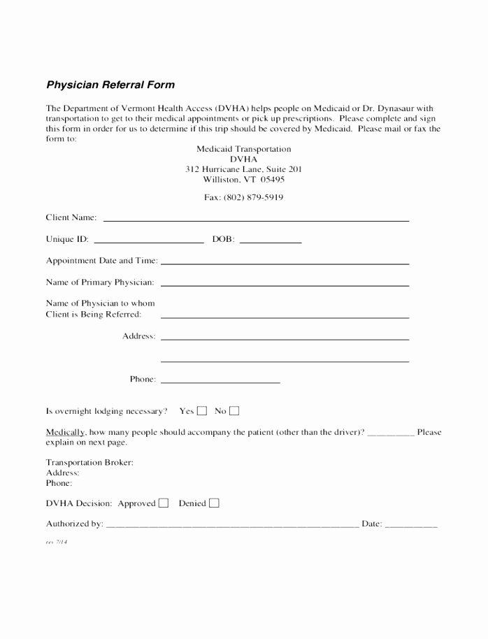 Doctor Referral form Template Best Of 12 Patient Referral form Template Utixy