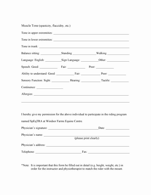 Doctor Referral form Template Best Of Clients