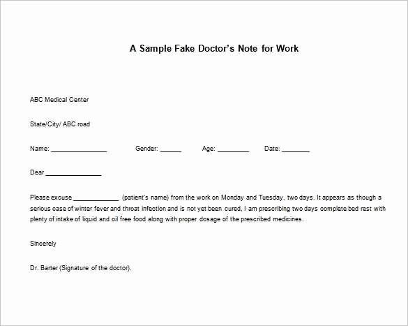 Doctors Notes for Work Template Lovely 4 5 Kaiser Permanente Doctors Note for Work