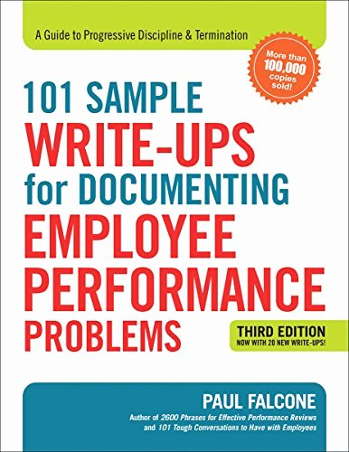 Documenting Employee Performance Template Awesome Cheapest Copy Of 101 Sample Write Ups for Documenting