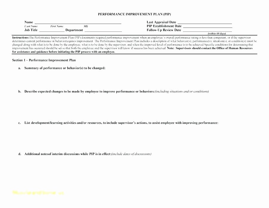 Documenting Employee Performance Template Luxury Free Performance Appraisal forms Templates Detailed