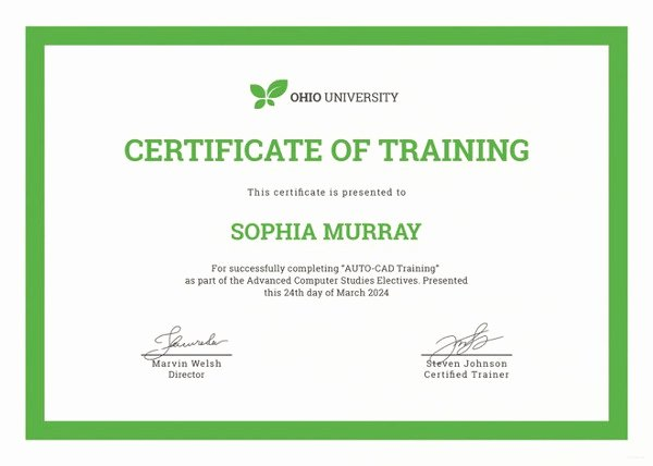 Dog Training Certificate Template New Training Certificate Template 27 Free Word Pdf Psd