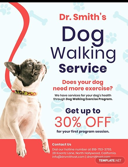 Dog Walking Flyer Template Lovely Free Home Cleaning Service Flyer Template Download 640