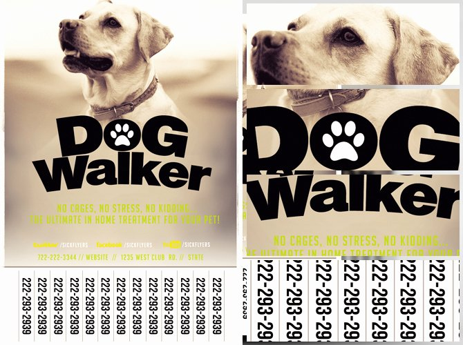 Dog Walking Flyer Template Lovely Professional Dog Walker Flyer Template Flyerheroes