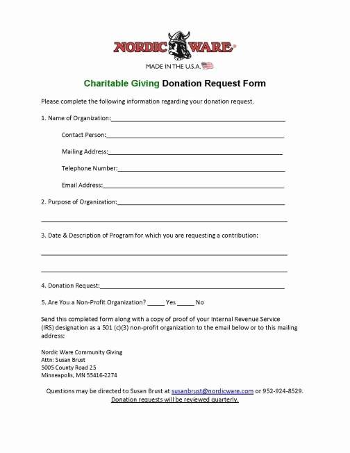 Donation form Template Word Elegant 36 Free Donation form Templates In Word Excel Pdf