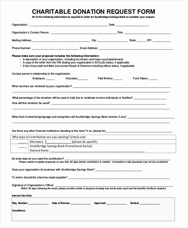 Donation form Template Word Fresh 10 Sample Donation Request forms – Pdf Word