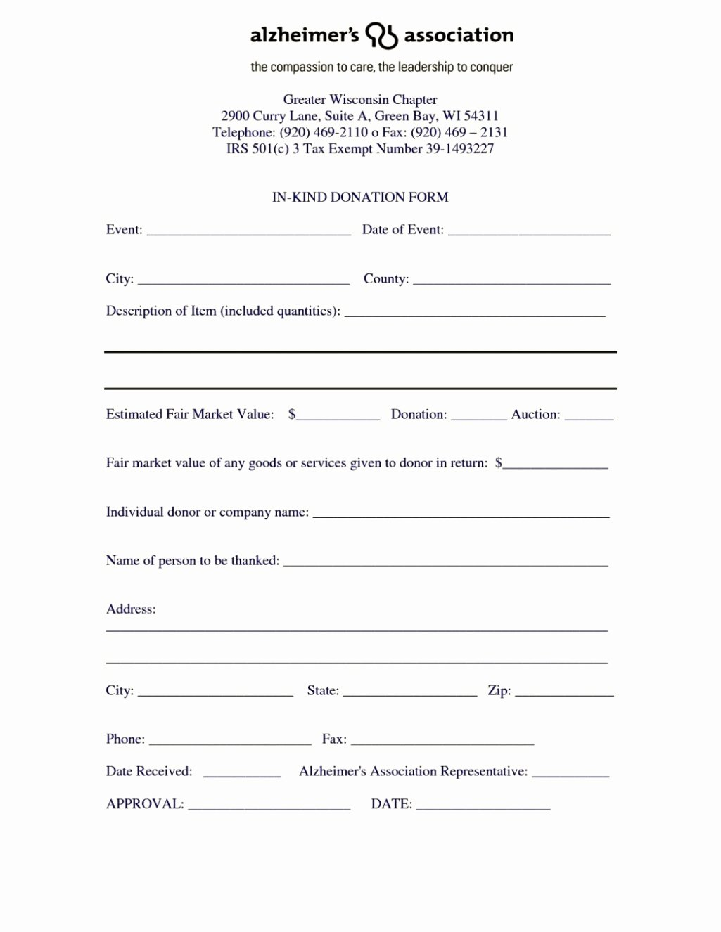 Donation form Template Word Luxury Donation form Template Template Update234 Template