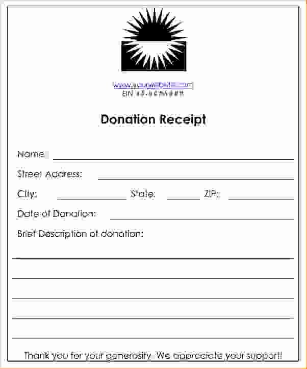 Donation Receipt Template for 501c3 Inspirational Related Keywords & Suggestions for Non Profit Donation