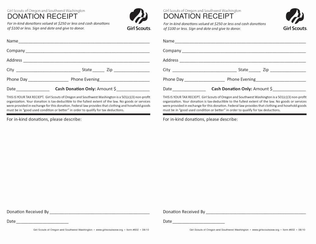 Donation Receipt Template for 501c3 Lovely 501c3 Donation Receipt