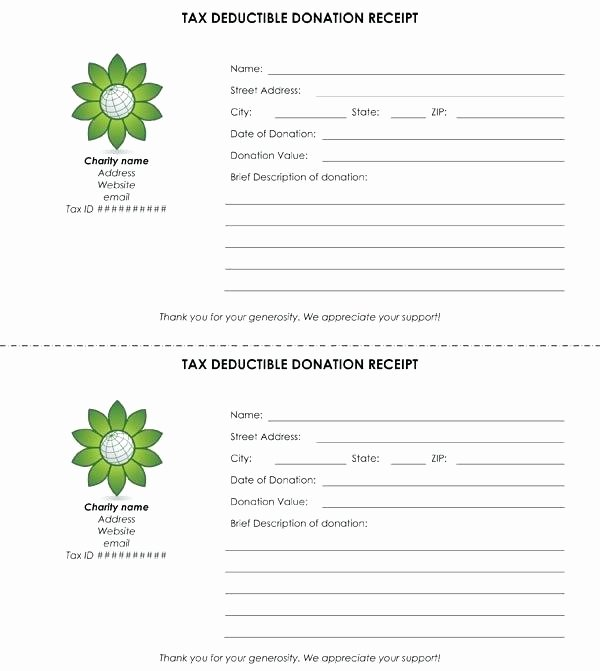 Donation Receipt Template for 501c3 New Donation form Template Free Templates 501c3 Receipt