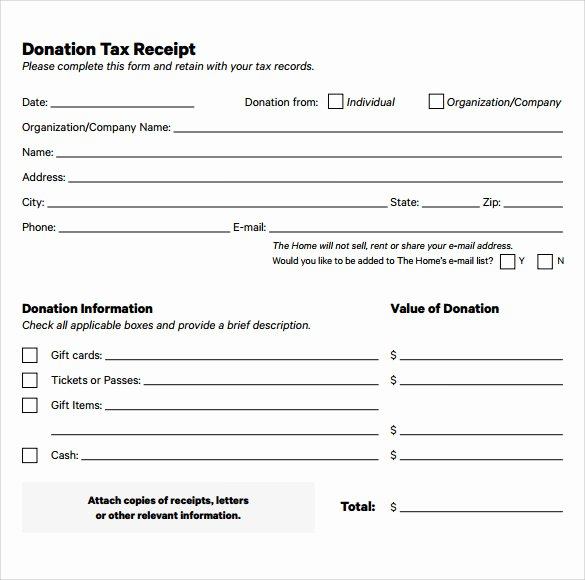 Donation Receipt Template for 501c3 Unique Donation Receipt Template for 501c3 Templates Resume