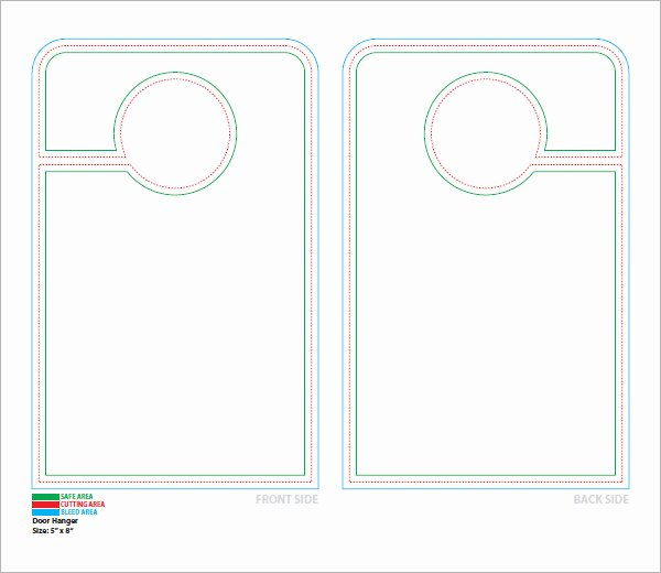 Door Hanger Design Template Beautiful 15 Door Hangers