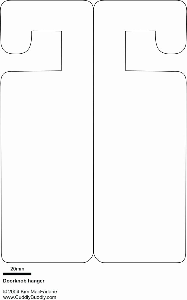 Door Hanger Design Template Beautiful Printable Door Hanger Template – Template Gbooks