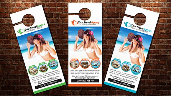 Door Hanger Design Template Luxury 10 Sample Door Hanger Designs