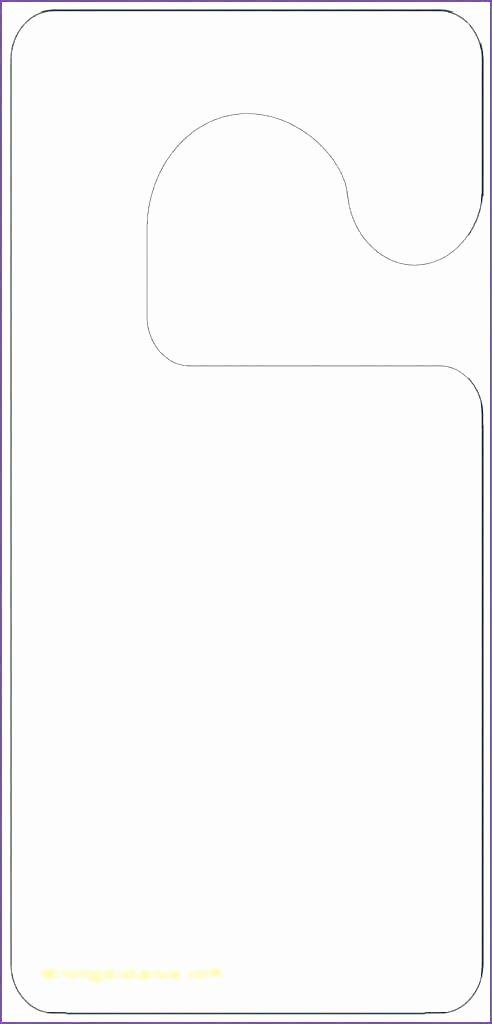 Door Hanger Design Template Luxury Blank Door Hangers Door Hangers 3 Per Page X Standard
