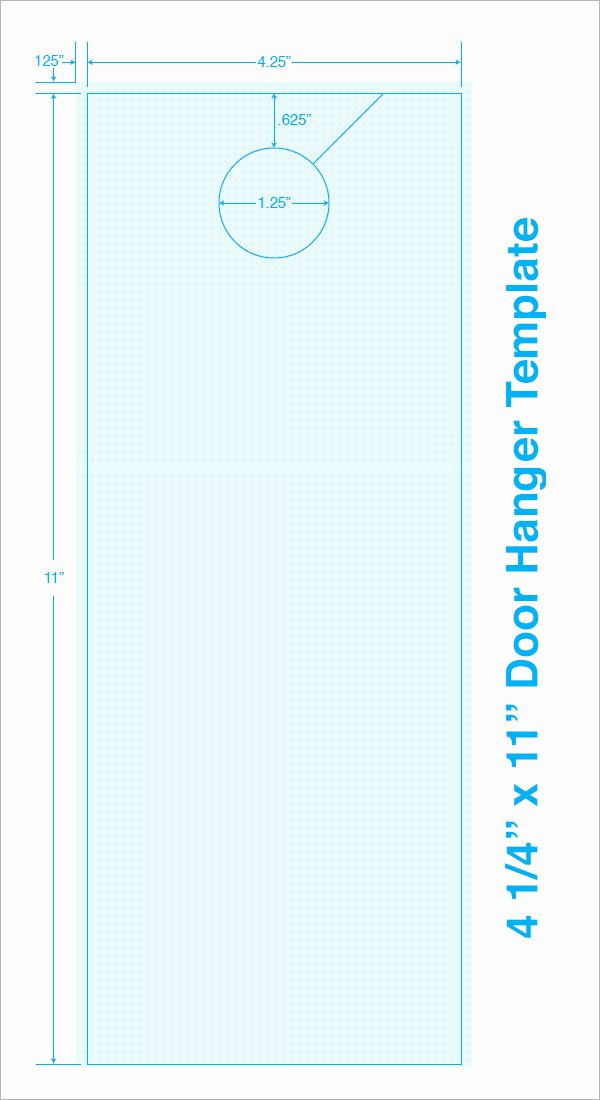 Door Hanger Design Template New 15 Door Hangers
