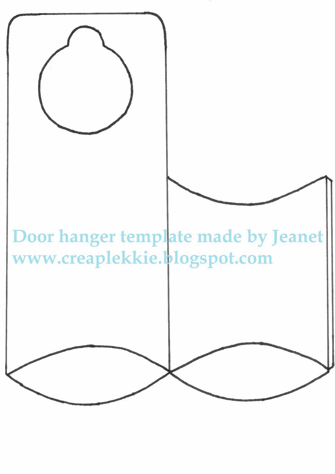 Door Hanger Template for Word Awesome Fice Door Microsoft Fice Door Hanger Template