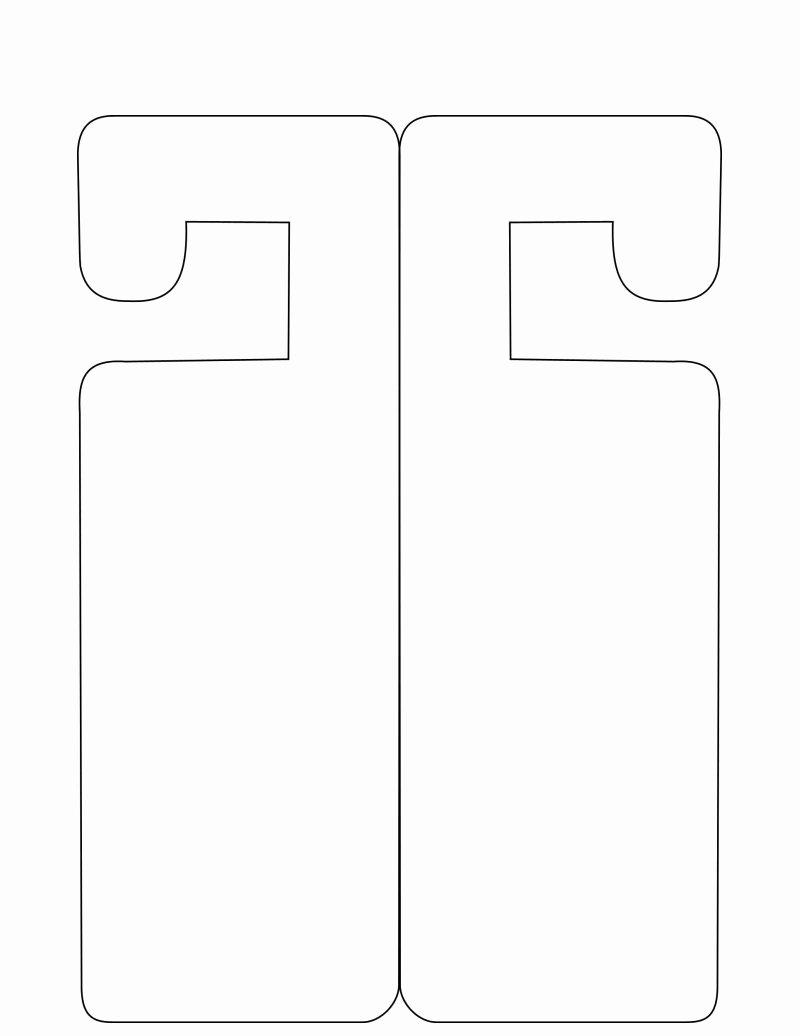 Door Hanger Template Free New Door Hanger Template