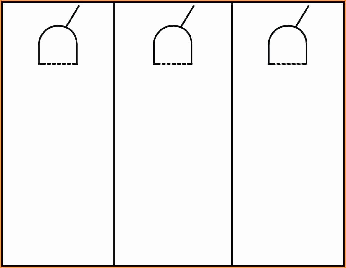 Door Hanger Template Microsoft Word Best Of Template Door Hanger Template for Publisher