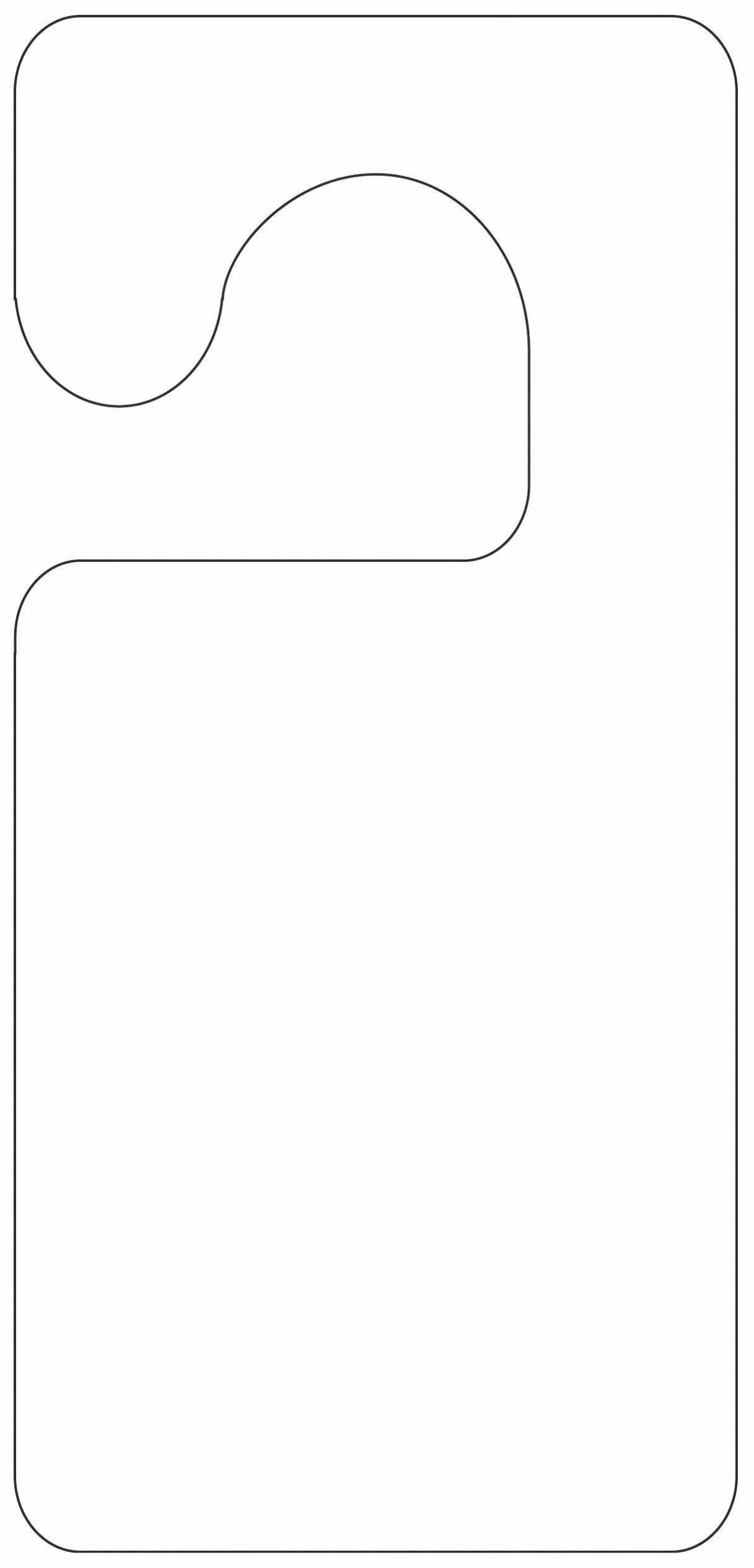 Door Hanger Template Microsoft Word Luxury Printable Door Hanger Template