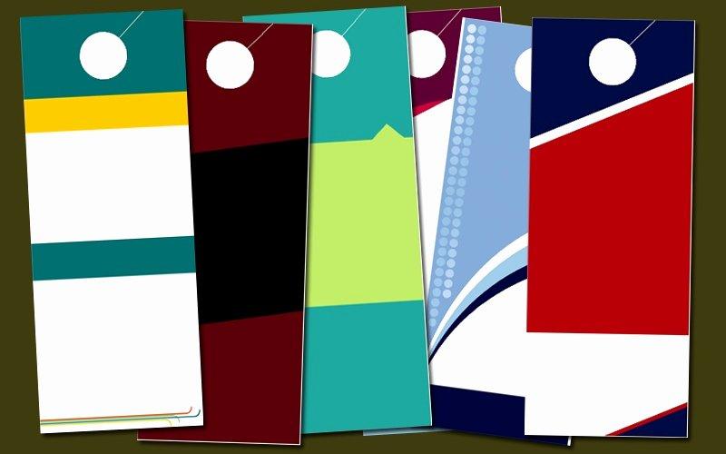 Door Hanger Template Microsoft Word Unique 8 Elegant Door Hanger Template Publisher