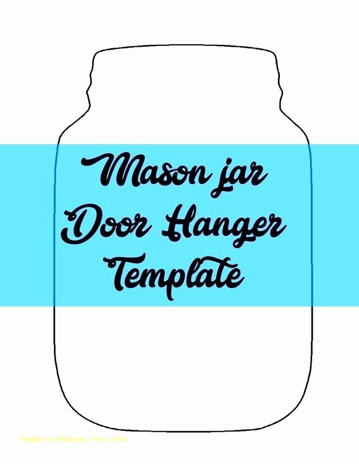 Door Hanger Template Microsoft Word Unique Blank Printable Door Hanger Template Outline Hangers