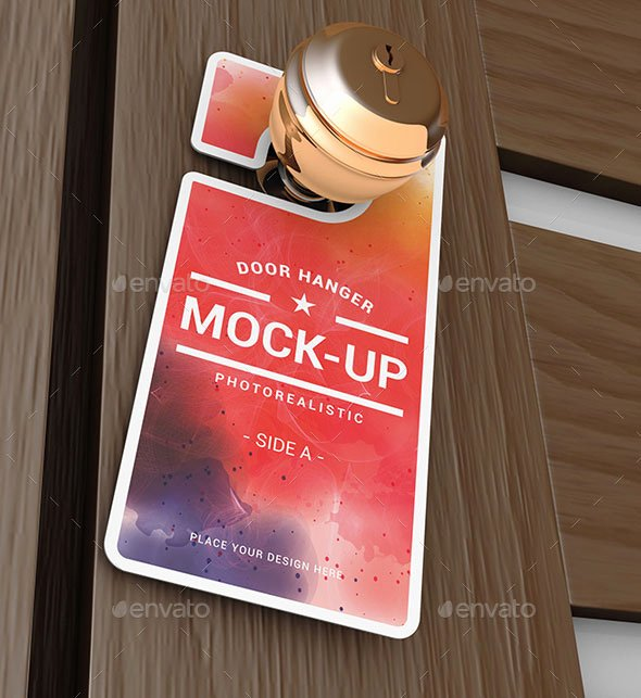 Door Hanger Template Psd Best Of 10 Realistic Door Hanger Mockups with Editable Psd Files