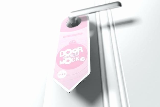 Door Hanger Template Psd Inspirational Door Hanger Custom Hangers Designs Templates Samples
