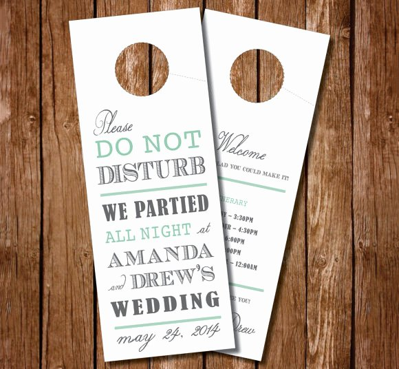 Door Hanger Template Psd New 12 Do Not Disturb Door Hangers