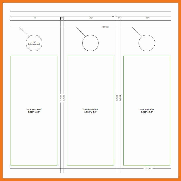 Door Hanger Template Psd New 5 6 Free Door Hanger Template