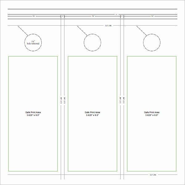 Door Hanger Template Psd Unique Door Hanger Template – Centralazdining