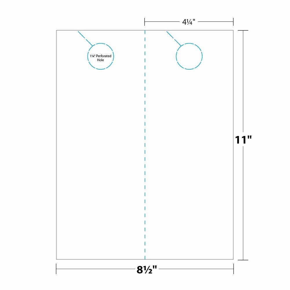 Door Hanger Template Publisher Fresh Door Hanger Template Indesign Templates Resume