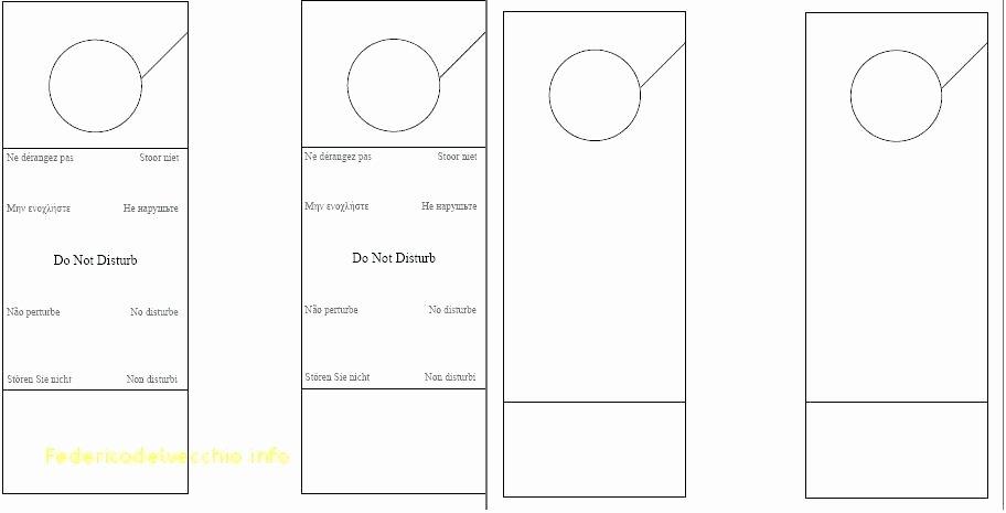Door Hanger Template Publisher Unique Free Door Sign Templates – Threestrands