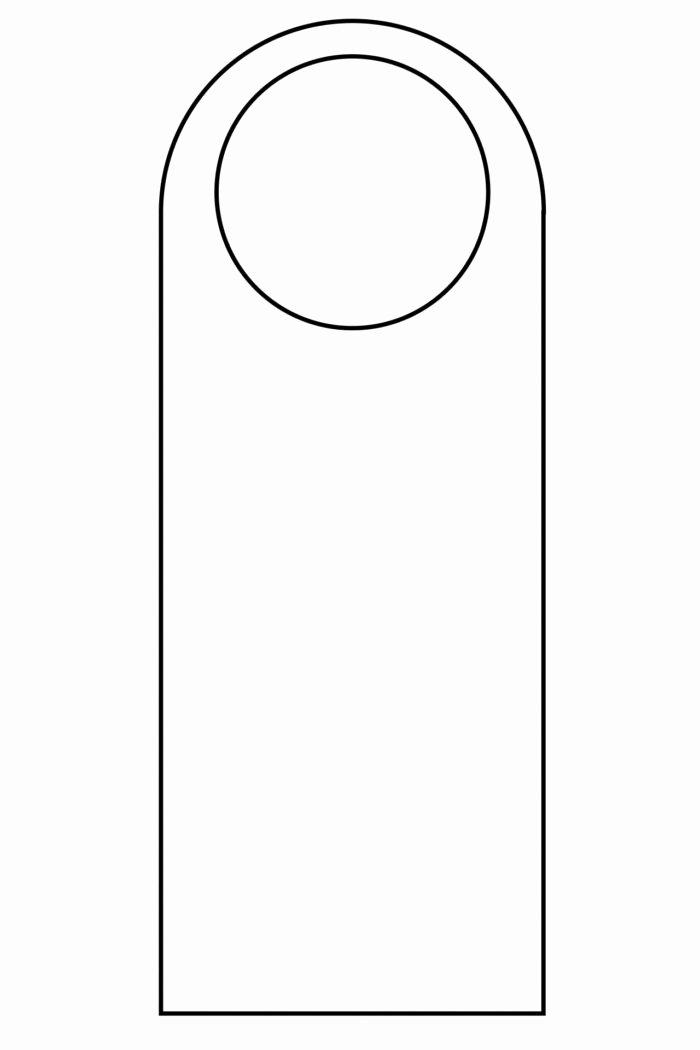 Door Hanger Template Word Elegant Diy Do Not Disturb Door Hanger Template Templates