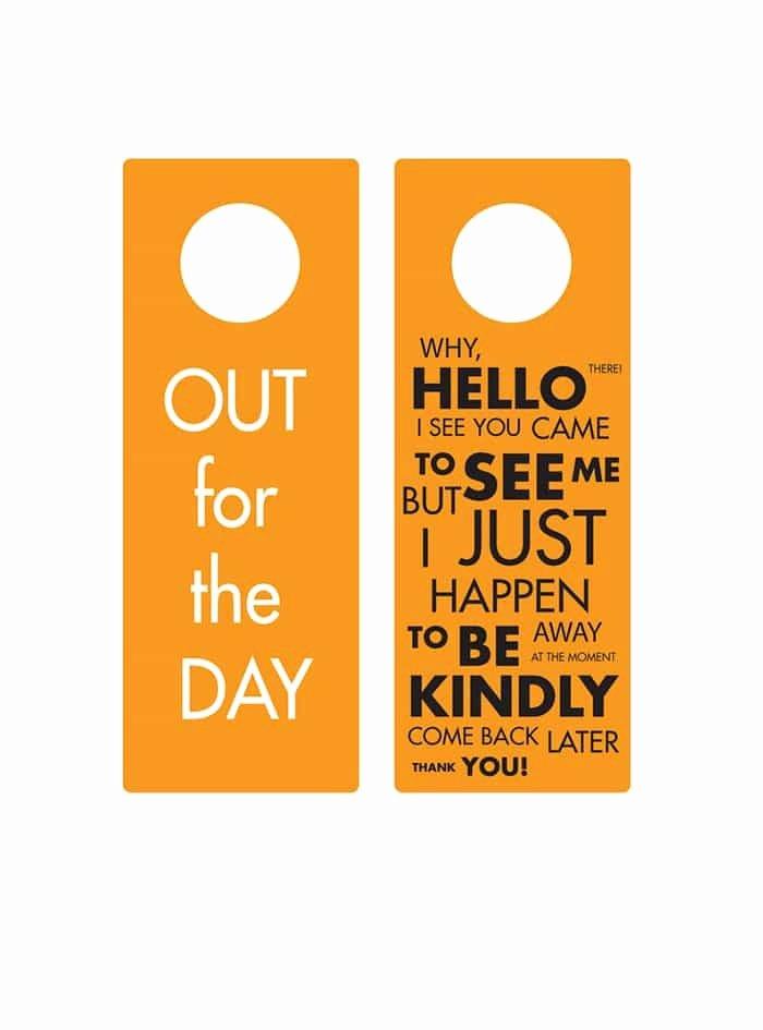 Door Hanger Template Word Lovely 43 Free Door Hanger Templates Word Pdf Template Lab