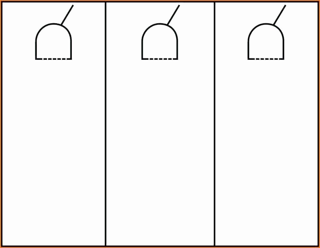 Door Hanger Template Word New Template Door Hang Tag Template