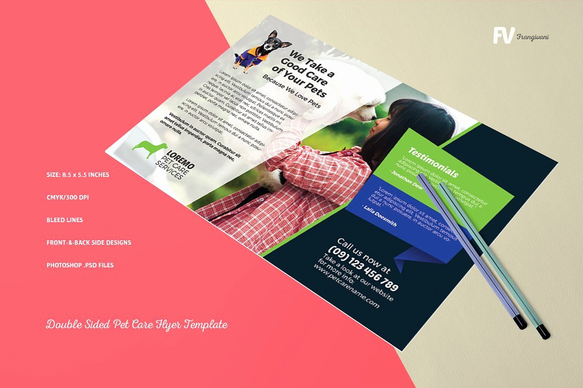 Double Sided Brochure Template Awesome 16 Double Sided Flyers Word Psd Ai Eps Vector