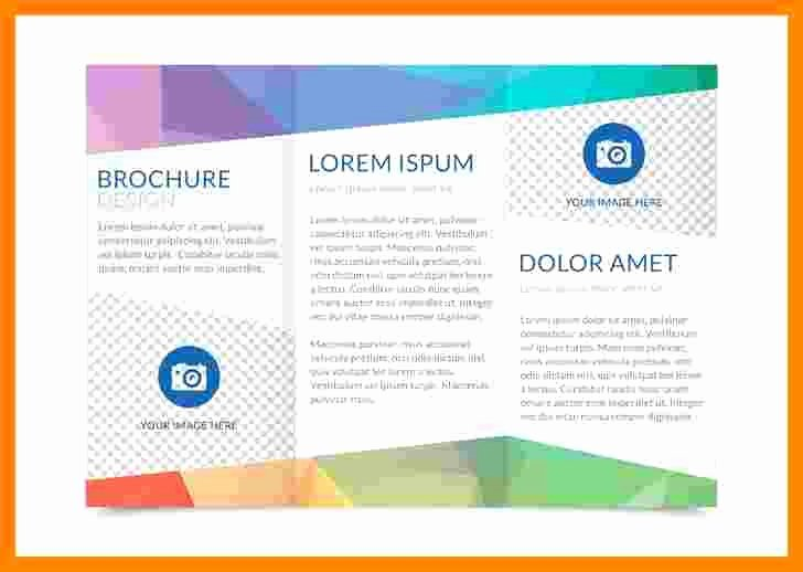 Double Sided Brochure Template Awesome 50 Lovely Double Sided Tri Fold Brochure Template
