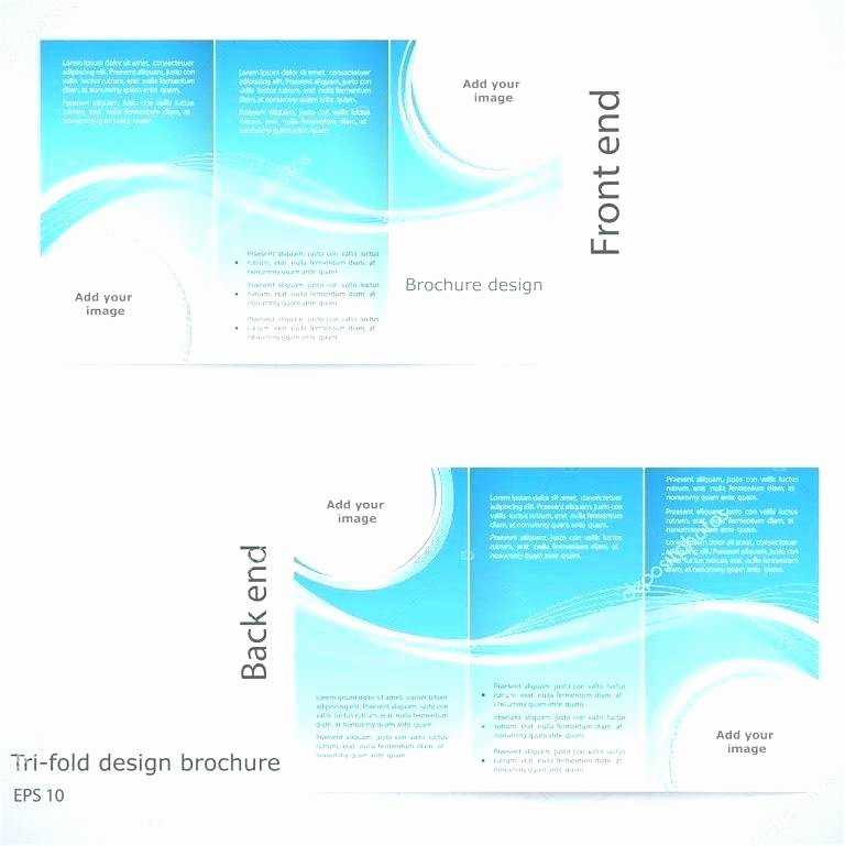 Double Sided Brochure Template Awesome Two Sided Brochure by Double Template Free – Jcbank