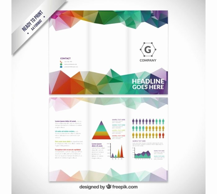 Double Sided Brochure Template Fresh 50 Lovely Double Sided Tri Fold Brochure Template