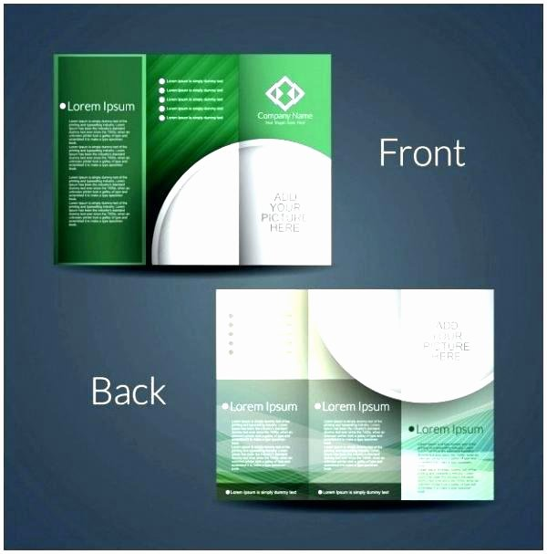 Double Sided Brochure Template Fresh Roll Fold Brochure Template 4 Panel Cool 6 Free T Resume