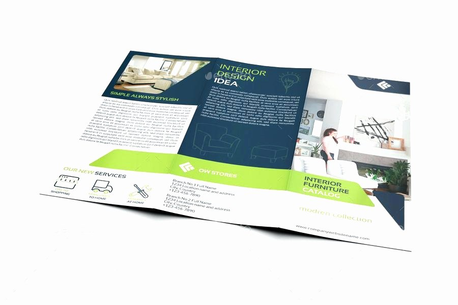 Double Sided Brochure Template Lovely 50 Lovely Double Sided Tri Fold Brochure Template