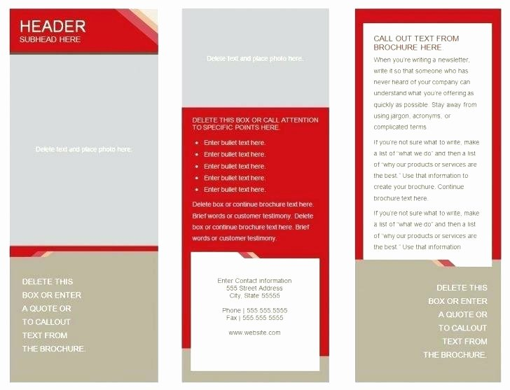 Double Sided Brochure Template Lovely 51 Unique 2 Sided Brochure Template