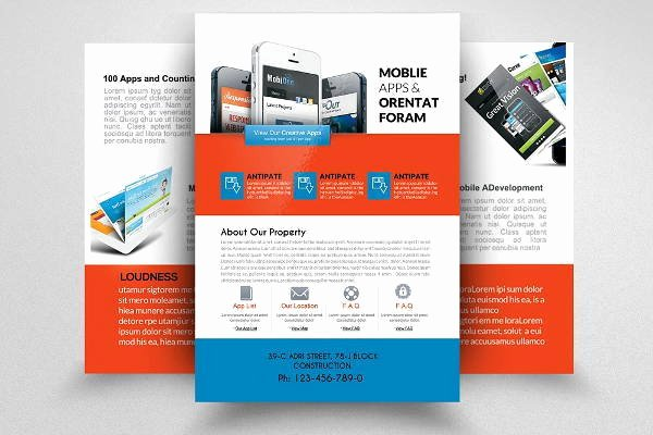 Double Sided Brochure Template Luxury Two Sided Brochure Template Word