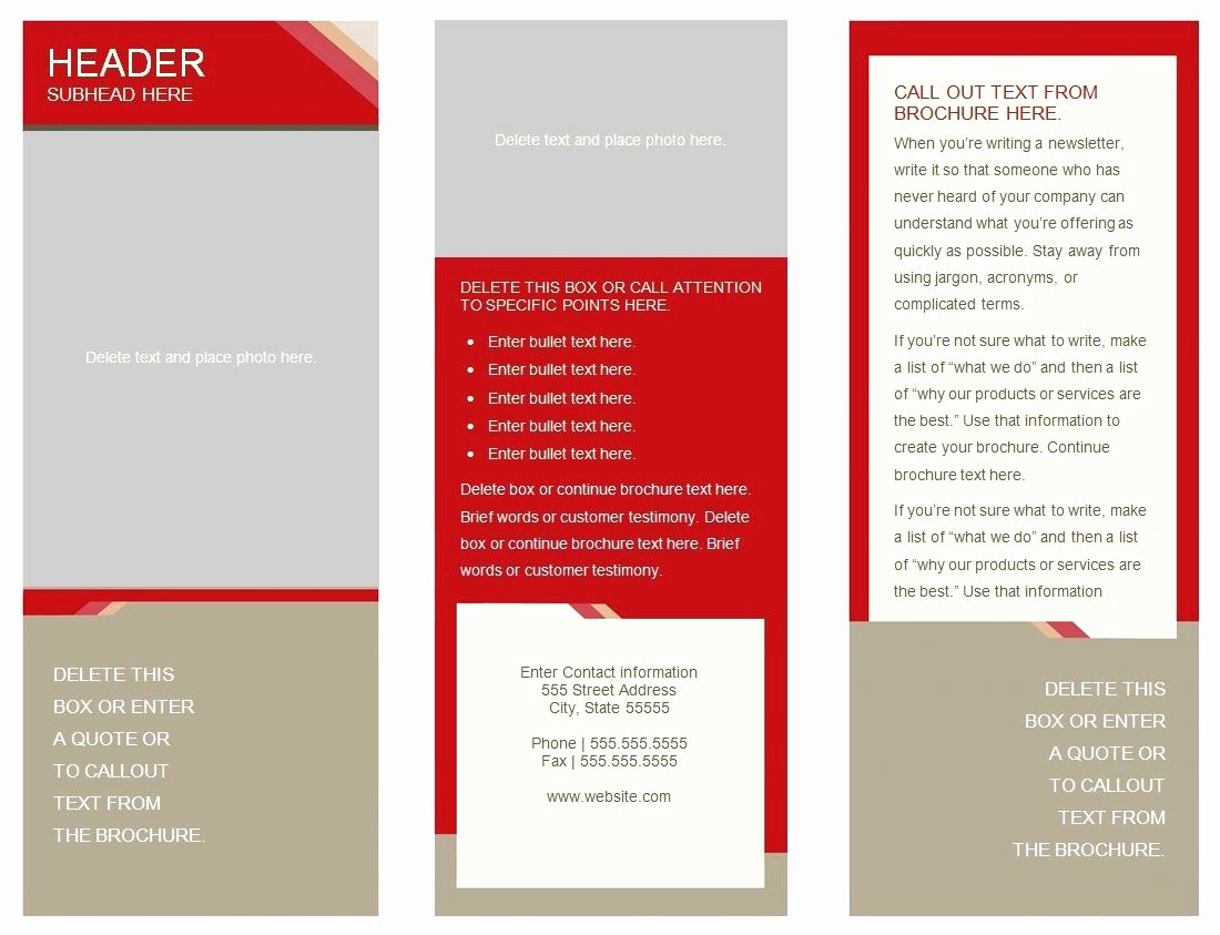 Double Sided Brochure Template New 50 Unique Double Sided Brochure Template Google Docs