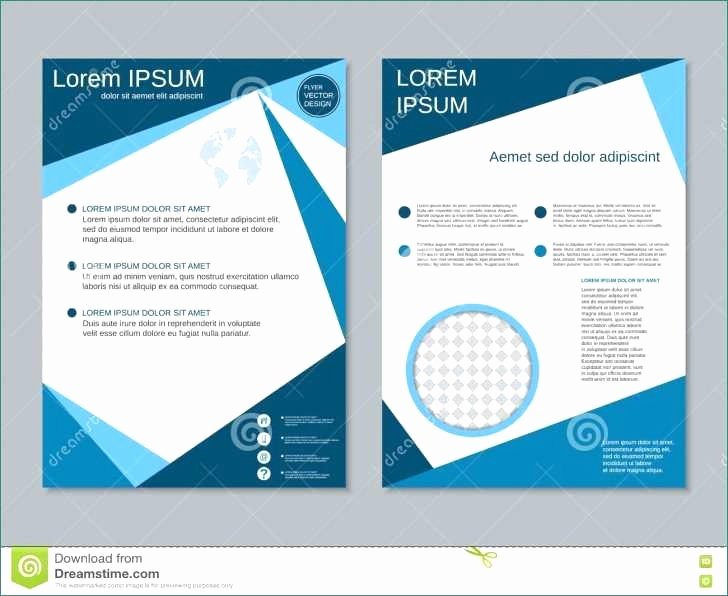 Double Sided Brochure Template Unique 51 Unique 2 Sided Brochure Template