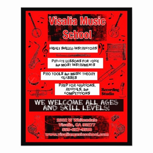Double Sided Flyer Template Inspirational 1 000 School Flyers School Flyer Templates and Printing