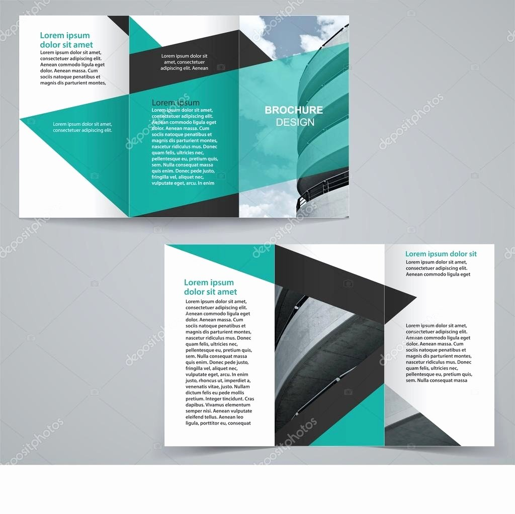 Double Sided Flyer Template Luxury 50 Lovely Double Sided Tri Fold Brochure Template