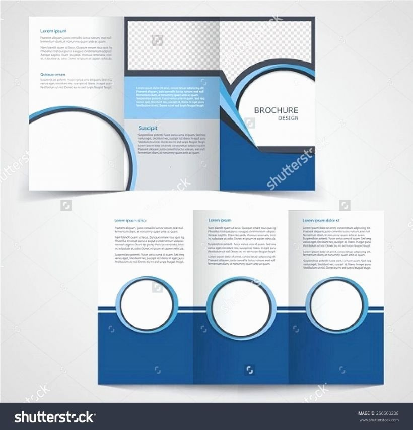 Double Sided Flyer Template Luxury Double Sided Brochure Template Publisher Double Sided